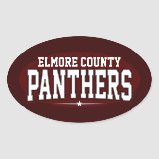 Elmore County High School; Panthers Stickers