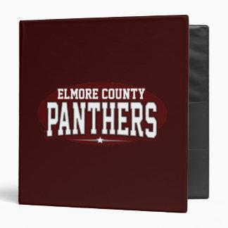 Elmore County High School; Panthers Vinyl Binders
