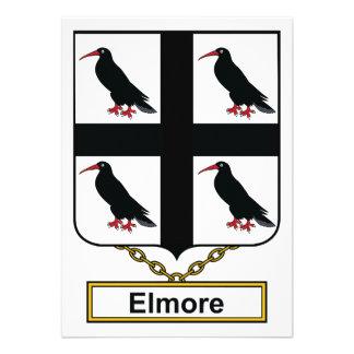 Elmore Family Crest Invitations