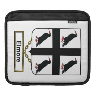 Elmore Family Crest iPad Sleeves