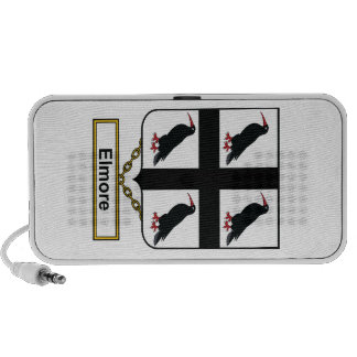 Elmore Family Crest iPod Speakers