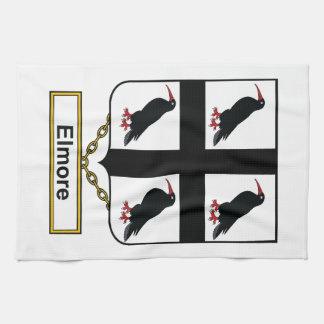 Elmore Family Crest Kitchen Towels