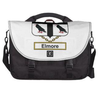 Elmore Family Crest Laptop Computer Bag