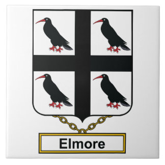Elmore Family Crest Tile