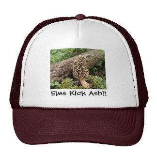 Elms Kick Ash!! Trucker Hat