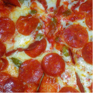 elmton pizza statuette
