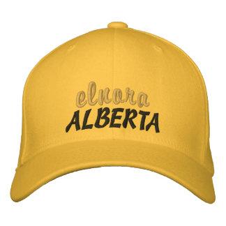 Elnora, Alberta Canada Hat Embroidered Hats