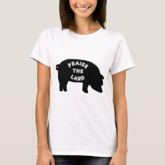Elogie la manteca de cerdo playera