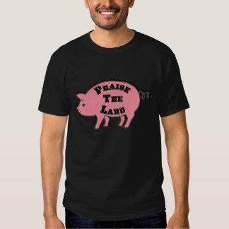 Elogie la manteca de cerdo remeras