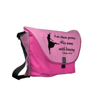 Elogíelo con la bolsa de mensajero del baile (el r bolsa de mensajería