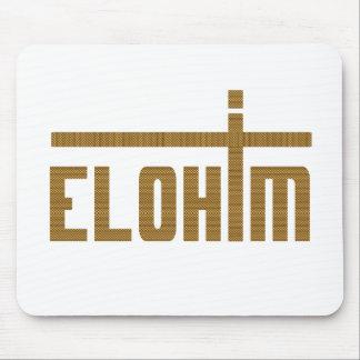 Elohim Croix Tissage Mouse Pad