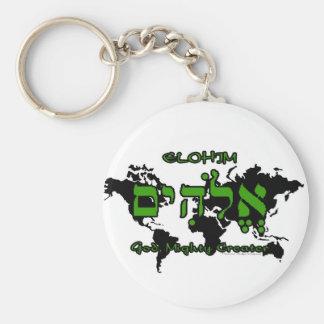 Elohim - God, Mighty Creator Keychain