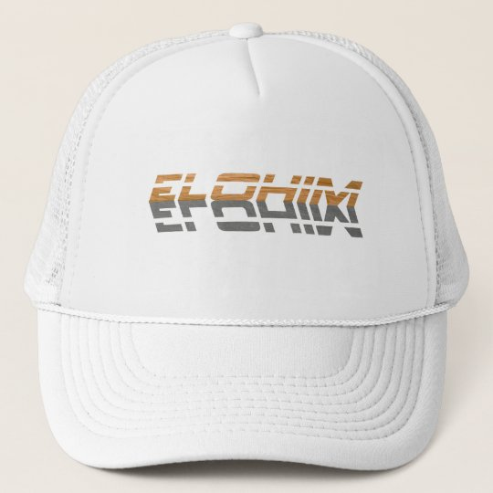 Elohim reflet Terre Gris Trucker Hat