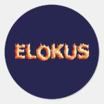 Elokut Classic Round Sticker