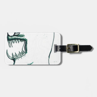 Elongation of the Serpentine Soul Luggage Tag