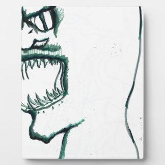 Elongation of the Serpentine Soul Photo Plaque