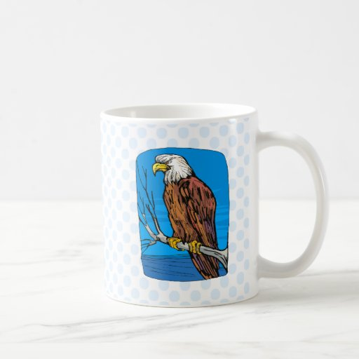 Elonzo Eagle Classic White Coffee Mug