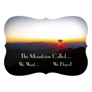 Eloped/las montañas románticas comunicados personalizados