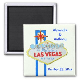Eloped to Las Vegas Refrigerator Magnets