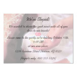 "Elopement Party Invitation 5"" X 7"" Invitation Card"