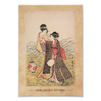 Elopers en arte del japonés de Musashino Kitagawa  Poster