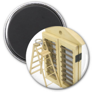 Eloping042810 2 Inch Round Magnet
