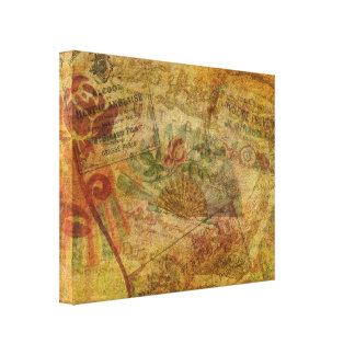 Eloquent Tapestry Canvas Print