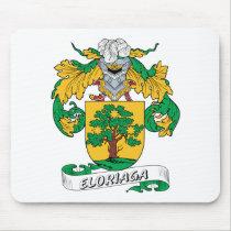 Eloriaga Family Crest Mousepad