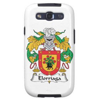 Elorriaga Family Crest Samsung Galaxy S3 Cases