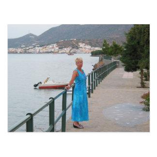 Elounda, Crete Postcard