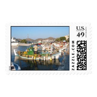 Elounda Crete Stamp
