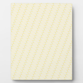 ELP light yellow stripes ovals patterns templates Photo Plaques