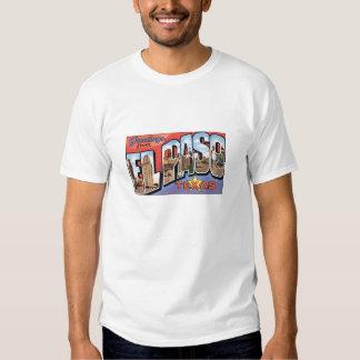 ElPaso, Texas old fashioned postcard T-Shirt