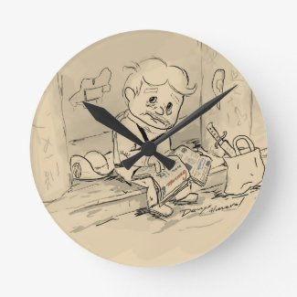 Elpidio envejecido round clock