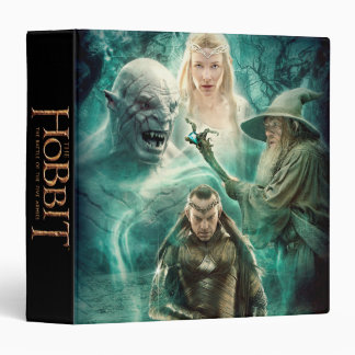 ELROND™, Azog, Galadriel, & Gandalf Graphic 3 Ring Binder
