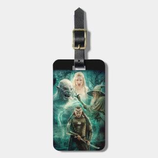 ELROND™, Azog, Galadriel, & Gandalf Graphic Bag Tag
