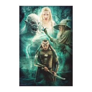 ELROND™, Azog, Galadriel, & Gandalf Graphic Canvas Print