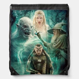ELROND™, Azog, Galadriel, & Gandalf Graphic Drawstring Bag