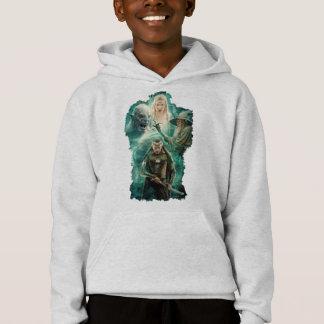 ELROND™, Azog, Galadriel, & Gandalf Graphic Hoodie