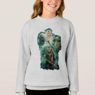 ELROND™, Azog, Galadriel, & Gandalf Graphic Sweatshirt
