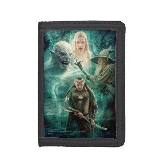 ELROND™, Azog, Galadriel, & Gandalf Graphic Trifold Wallets