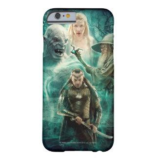 Elrond, Azog, Galadriel, y gráfico de Gandalf Funda Para iPhone 6 Barely There