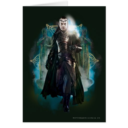 Elrond Full-Body Greeting Card