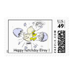 Elroy is born! postage stamps