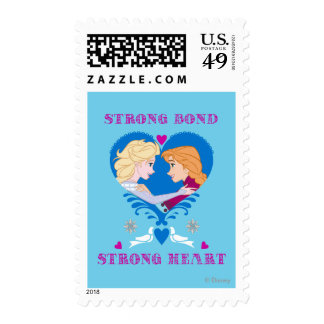 Elsa and Anna - Strong Bond, Strong Heart Stamp