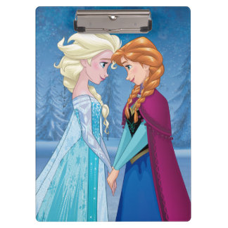 Elsa and Anna -  Together Forever Clipboards
