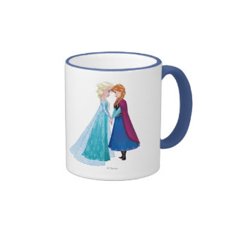 Elsa and Anna -  Together Forever Coffee Mugs