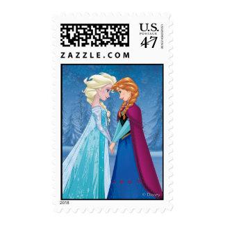 Elsa and Anna -  Together Forever Postage