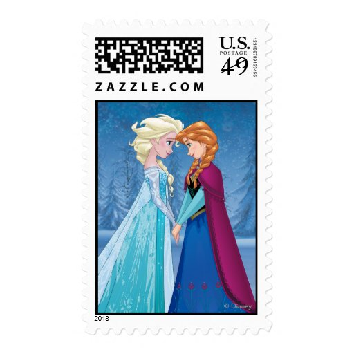 Elsa and Anna - Together Forever Stamps