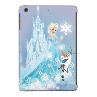 Elsa and Olaf - Icy Glow iPad Mini Case